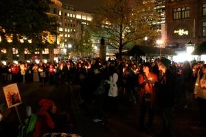 Vigil at Phillips Square.
